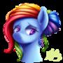 Dashing Rainbow by LordValtasar