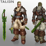 Taliesin character design
