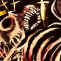 boney cage background