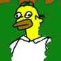 Homer Morphs Into a Bush