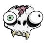 Skull sticker designs