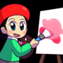 Let's paint a lil' kirb by Coonstito