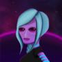 Alien edgy girl