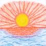 Art #85 -- Sea Sunset