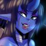 Blue Oni Girl