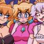 Peach, Bowsette & Booette