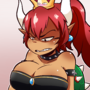 Bowsette! Now with Red!