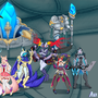 League Group Pic by Avalugg