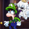 Luigi and Boosette (animated!)