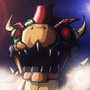 Fight against Mecha-Bowser