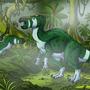 Iguanodon in the Mist