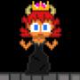 Bowsette Pixel Art