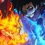 Endeavor vs Dabi - My Hero Academia
