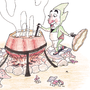 Tingle Cooking Stew