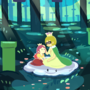 The Woods where Lakitette and Spinette Play