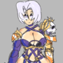 ivy valentine but its bad because shes really complicated rgh