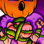 Pumpkin girl (commission)
