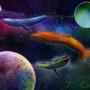 Painting the Galaxy Rainbow by Nami-Oki