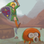 link is angry