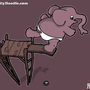 Elephant Dive by yellowbouncyball