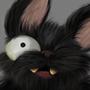 Scruffy the cat/bat