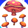 Mushrooms art assets