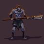 Blue Skin Warrior