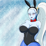 Vados in the legendary Bunny Suit