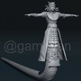 Stheno – Fantasy Female 3D Character - Vegas, USA