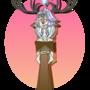 Angel, Fauna Pendant by GlitchyArtist