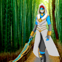 My OC as assassin from Shadow Fight 2 by DSpaceDZN
