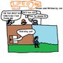 LIFE OF JOE COMIC NO.30 Isaac leaves by HazPot