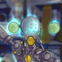 Zenyatta on fire