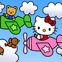 Kitty Plane Ride