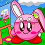 Bunny Kirby Drawing