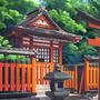 A Shinto Shrine