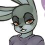 AWD's Goth Bunny
