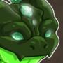 Emerald mud dragon