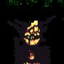 halloween pixel demon