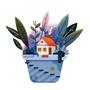 House on a Pot