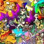garfield yiffs in hell by OctopusPriem