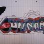 graffiti by gunnzoz