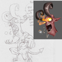 Little Demon by SmokeryDots