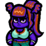 Monster Bat Girl, Idle Animation
