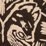 The fox's visit- Linoleum