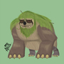 Sloth Monster by StitchMouth