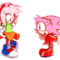 Amy Rose outfit swap