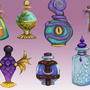 [UNI Work] Potion Designs