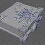 3D Model (Uni Work) Priest Spellbook mesh