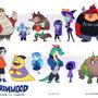 Grimwood Students by HelloLuigi